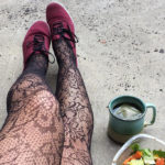 Curate edgy outfits with these fancy Tights