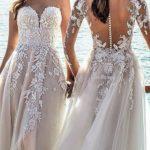 Top Long-Sleeved Wedding Dresses To Get Elegant Style